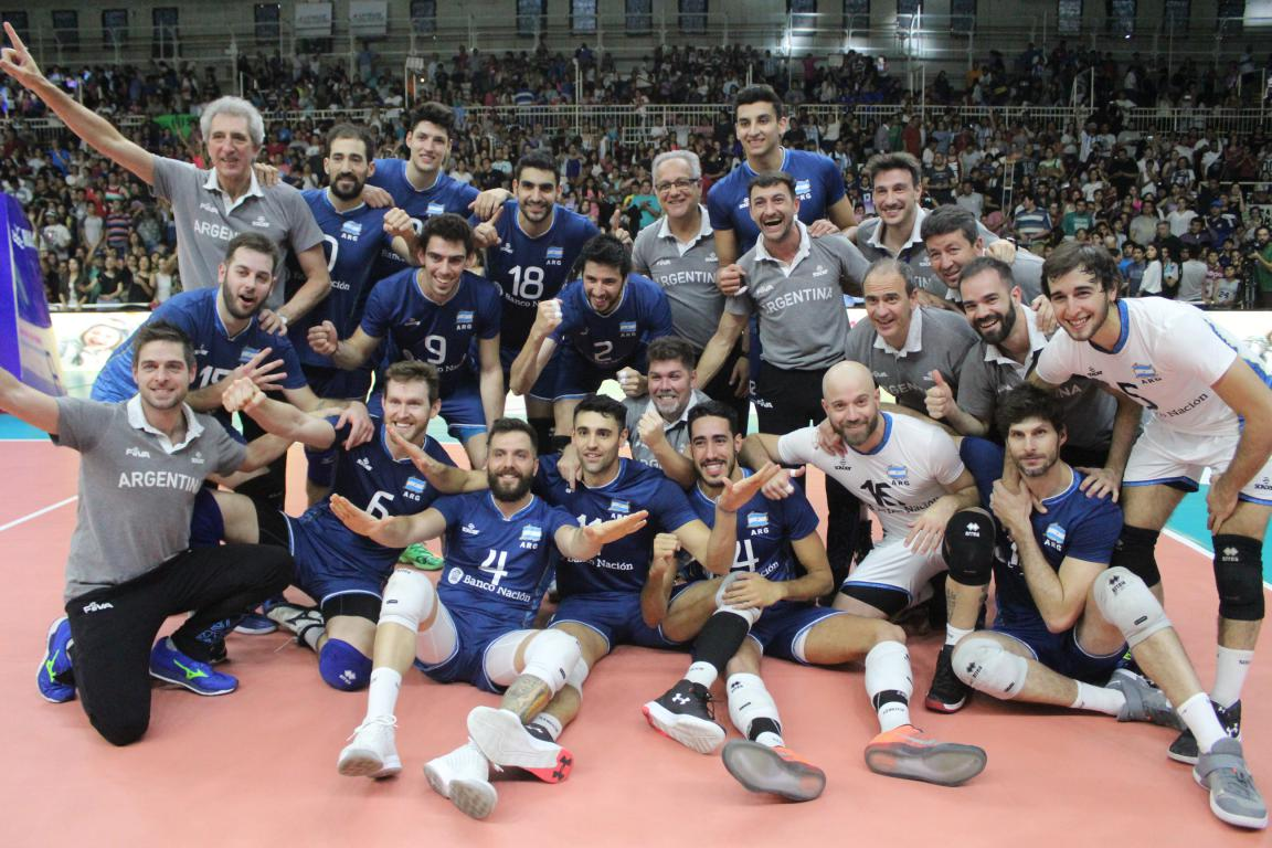 ¡Argentina Campeón y Clasificado al Mundial Italia-Bulgaria 2018!