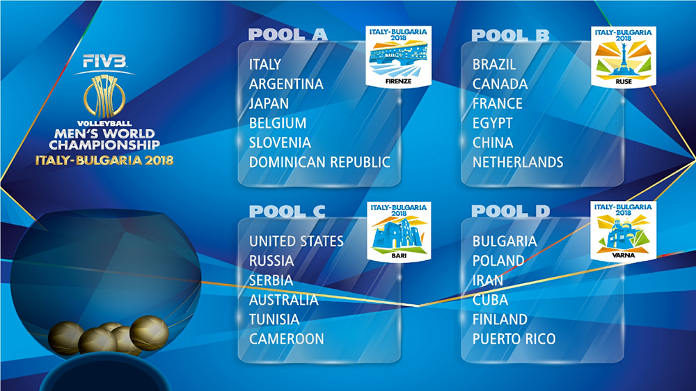 Argentina ya tiene su grupo para el Campeonato Mundial Masculino Italia/Bulgaria 2018