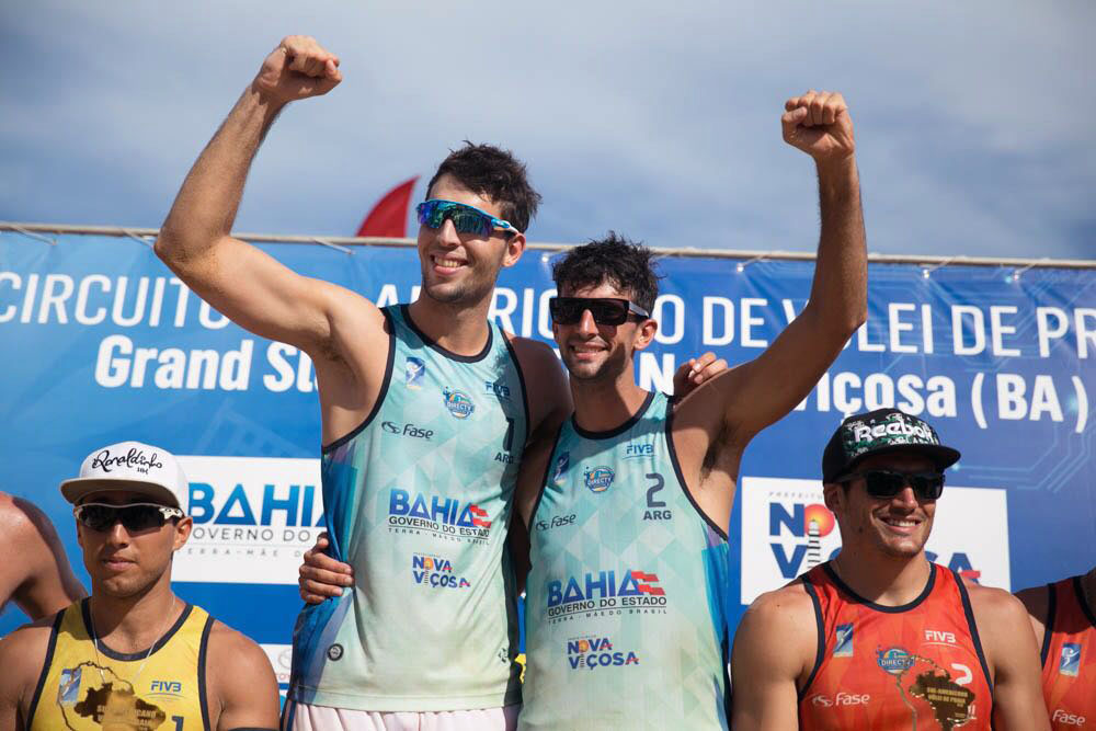 CSVP: Enorme título para Capogrosso-Azaad en Brasil