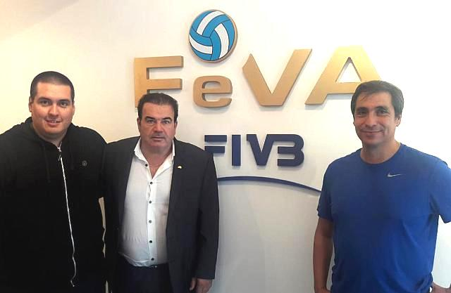Reunión de la FeVA con la FeSaVol
