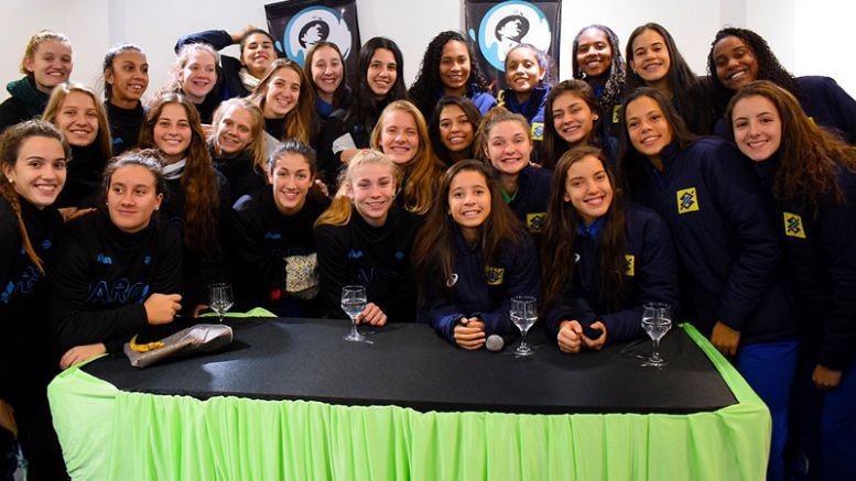 Las Panteritas juegan con Brasil en Comodoro Rivadavia