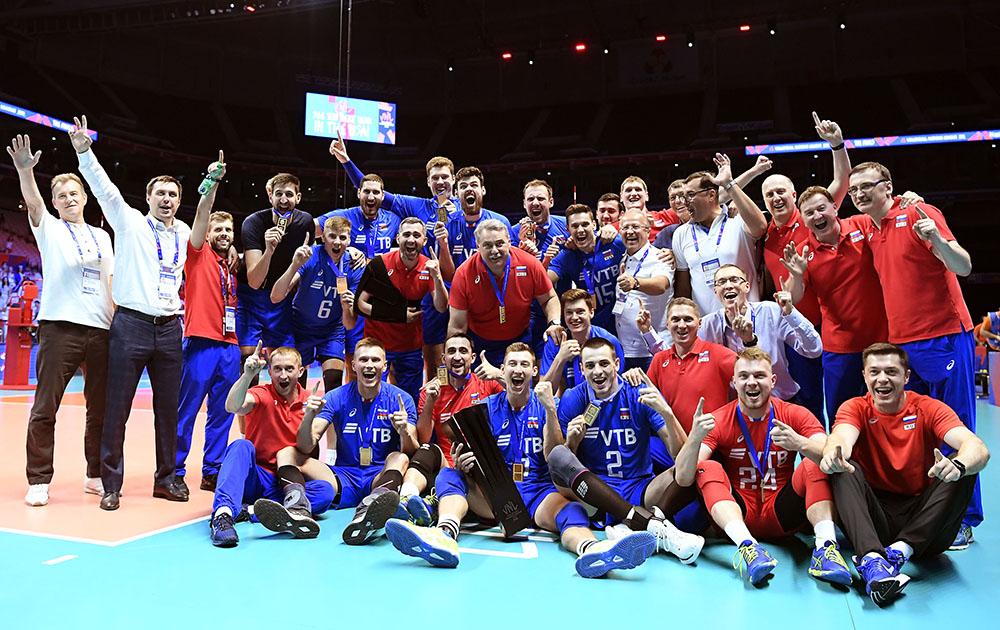 Rusia Campeón de la Liga de las Naciones masculina