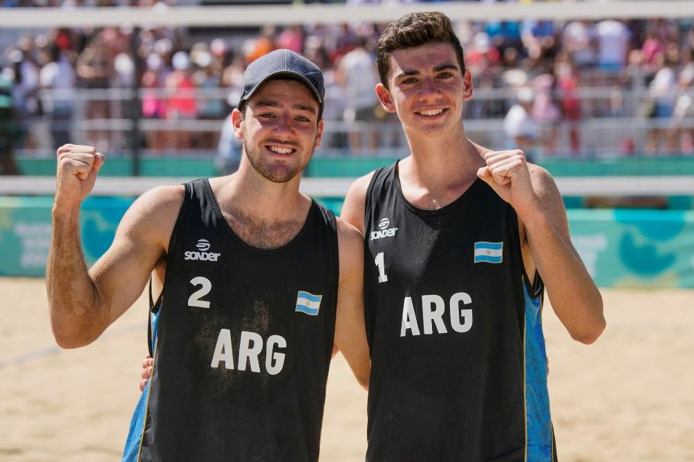 Beach: Bronce para Amieva-Zelayeta en los Juegos Olímpicos de la Juventud