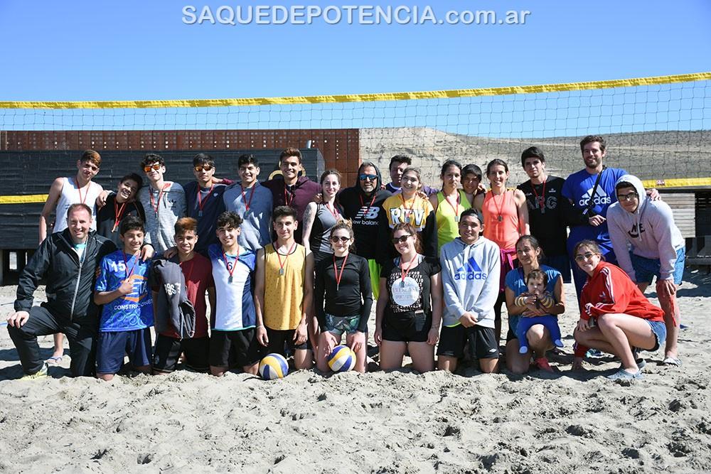 Waiwen organizó un torneo de Beach Volley