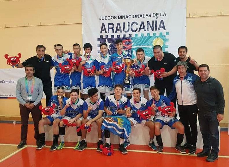 Araucanía 2018: Río Negro y Santa Cruz, campeones