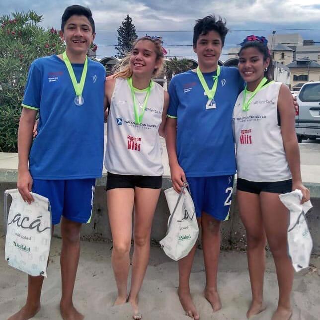Beach Volley: Se jugó la 2ª etapa del Circuito Chubutense