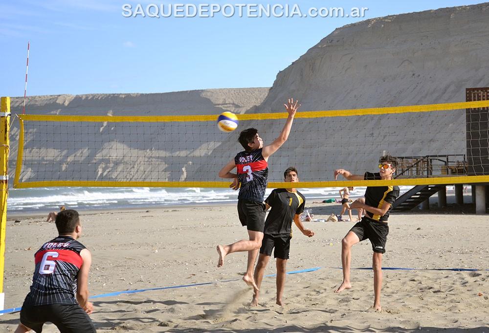 Beach Volley: Balmaceda-Lamas y Amorín-Segura ganaron la primera etapa del Circuito Chubutense