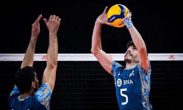 VNL: Argentina no pudo con Eslovenia