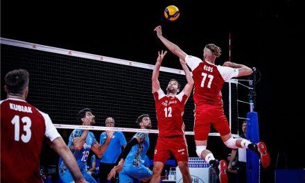 VNL: Argentina perdió con el bicampeón mundial