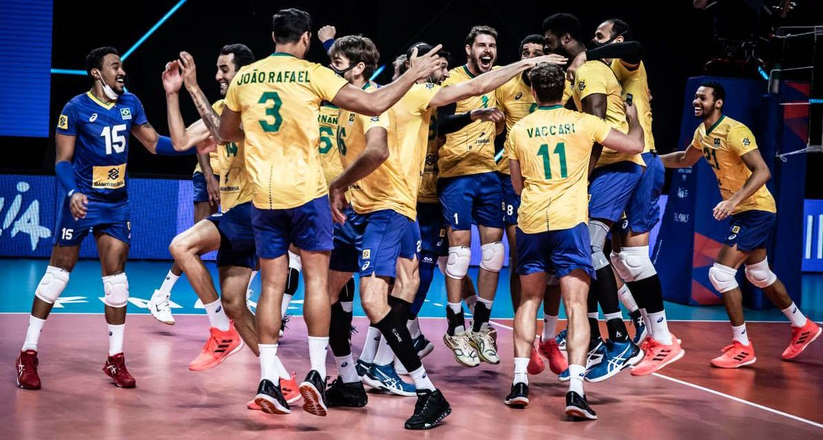 VNL: Brasil doblegó a Polonia y se consagró campeón
