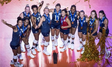 VNL: Estados Unidos derrotó a Brasil y se coronó campeón femenino