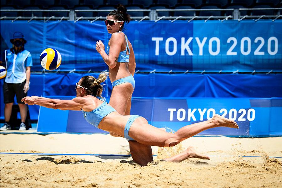 Beach Volley JJ.OO.: Argentina cayó ante Brasil