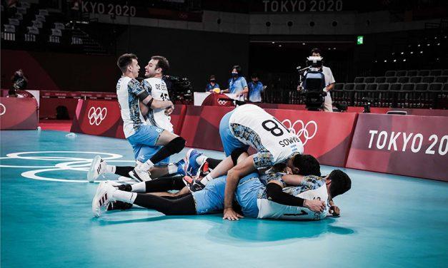 ¡ARGENTINA HACE HISTORIA EN TOKIO Y AVANZA A SEMIFINALES!